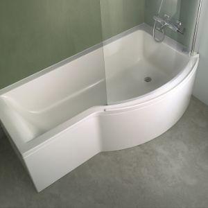 baignoire asymetrique 170 comparer 76 offres. Black Bedroom Furniture Sets. Home Design Ideas