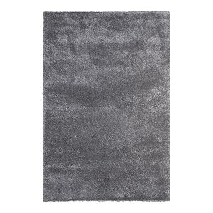 Vivaraise Tapis en polypropylène gris Ness 230 x 160 cm