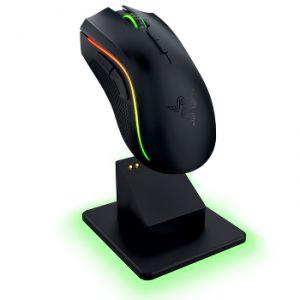 Razer Mamba Chroma - Souris laser sans fil rétro-éclairé multicolore personnalisable pour gamer