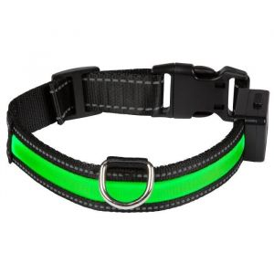 Eyenimal Collier lumineux Light Collar USB rechargeable taille M