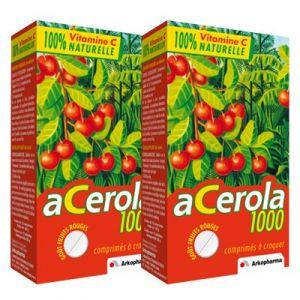 Arkopharma Acérola 1000 vitamine C - 2 x 30 comprimés
