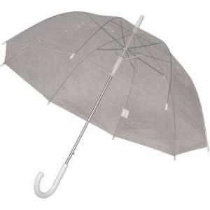Perletti Parapluie transparent cloche pas cher