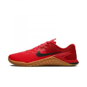 Nike Chaussure de training Metcon 4 XD pour Homme - Rouge - Couleur Rouge - Taille 42