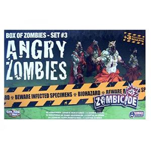 Guillotine Games Zombicide Angry Zombies Set 3