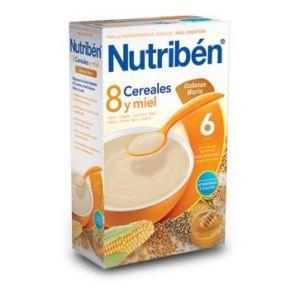 Nutribén 8 céréales et miel et biscuits 600 g - dès 6 mois