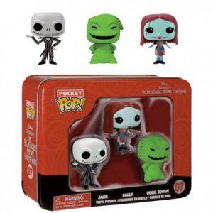 Funko Pack 3 figurines Pop! Étrange Noel de Monsieur Jack pocket