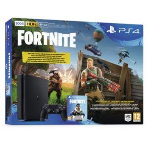 Sony Console PS4 Slim 500Go Noire + Fortnite