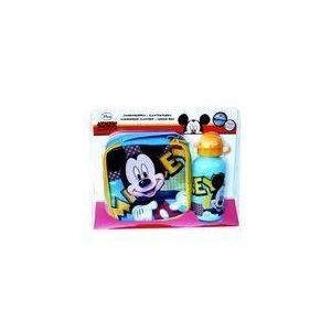 Boîte à goûter et gourde Disney Mickey