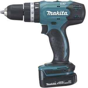 Makita BHP343RHJ - Perceuse visseuse à percussion 10mm 14,4V + 2 batteries 1,3 Ah Li-Ion + Coffret 2 MAK-PAC