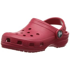 Crocs Classic Clog Kids, Sabots Mixte Enfant, Rouge (Pepper), 23-24 EU