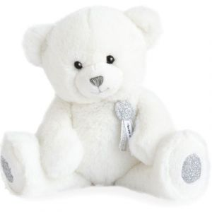Histoire d'ours Peluche ours Charms blanc (24 cm)