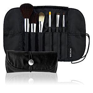 Beter Professional Makeup Brush Set in Black (6 pcs)