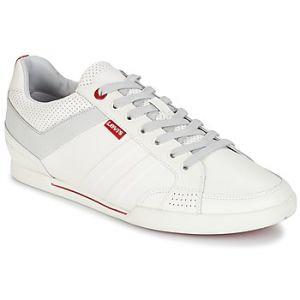 Levi's Turlock 2.0, Baskets Hommes, Blanc (Brillant White), 45 EU