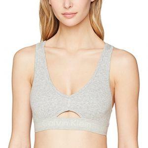 Calvin Klein Underwear Unlined W soutien-gorge de sport gris chiné M EU