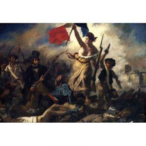 Grafika Puzzle Delacroix Eugène : La Liberté Guidant le Peuple, 1830 (12 pièces XXL)