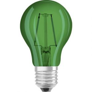 Osram Ampoule LED E27 4058075816022 forme standard 2 W = 15 W vert (Ø x L) 55 mm x 105 mm EEC: classe A+ à filament 1 pc