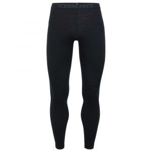 Icebreaker Vêtements intérieurs 200 Oasis Leggings - Black / Monsoon - Taille S