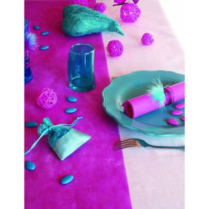 Chemin de table tissu non tissé (10 m x 30 cm)