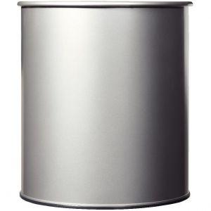 Rossignol Corbeille à papier métal - 30 litres - gris