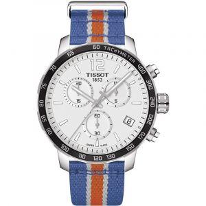 Tissot Montre Homme Quickster NBA New York Knicks T0954171703706 Bracelet Nato - T0954171703706