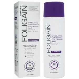 Foligain Après-shampoing pour femme - 2% Trioxidil - Chute des Cheveux
