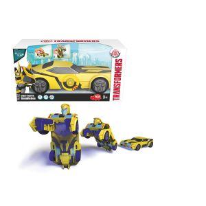 Dickie Toys 203113000%u2013Robot Warrior Bumblebee Transformers véhicule 15cm