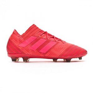 Adidas Nemeziz 17.2 FG, Chaussures de Football Homme, Rouge (Reacor/Redzes/Cblack), 44 EU