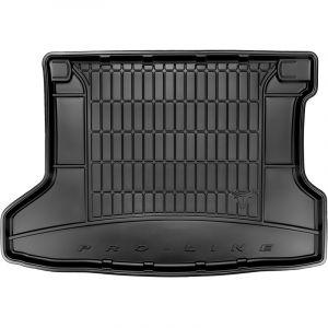 DBS Tapis de Coffre sur Mesure Caoutchouc 3D pour Honda HR-V des 2013 - Matière : caoutchouc TPE - Zones de rangement latérales - Nettoyage facile - Installation rapide
