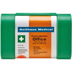 Holthaus Medical Trousse de secours Office, Dimensions : 260 x 170 x 95 mm
