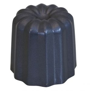 De Buyer 4718.05 lot de 4 moules canelé bordelais d5.5cm