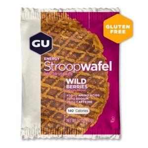 Gu Energy Acides aminés Gu Stroopwafel Gluten Free Wild Berries Box x16