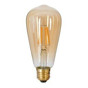 Ampoule lumineuse Larme Ambre