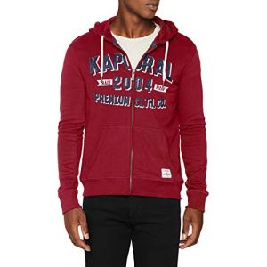 Kaporal BONZA Sweat-Shirt à Capuche, Rouge Neored, Taille Fabricant: M Homme