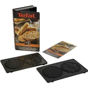 Tefal XA800712 - 2 plaques pour bricelets Snack Collection
