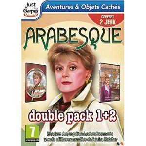 Arabesque double pack 1 + 2 - Retour à Cabot Cove [PC]