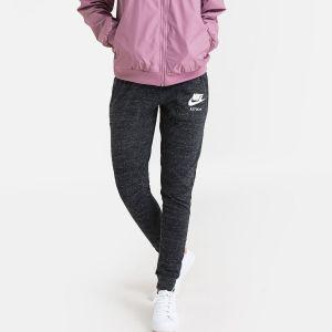 Nike Sportswear Gym Vintage Pant Pantalon Femme, Black/sail, FR (Taille Fabricant : XS)