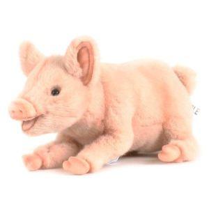 Anima Peluche Cochon couché 33 cm