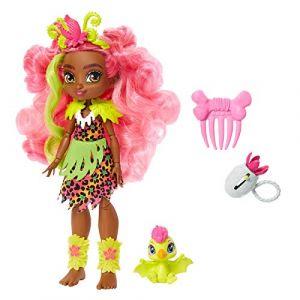 Mattel Poupée Cave Club 20 cm - Fernessa + accessoires