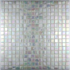 Rainbow mosa que en p te de verre pour douche salle de bain 30 x 30 cm - Carrelage pate de verre salle de bain ...