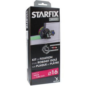 """Arcanaute Sortie de cloison STARFIX PER Ø16 Raccord à Sertir - Femelle 1/2"""""""" (15/21) pour robinet"""