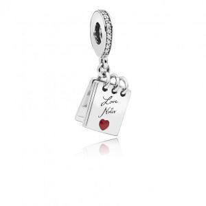Pandora Charm Amour 797835CZ - Charm Mots d'Amour Femme