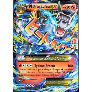 Asmodée M-Dracaufeu-EX - Carte Pokémon 12/83 220 PV Ultra Rare