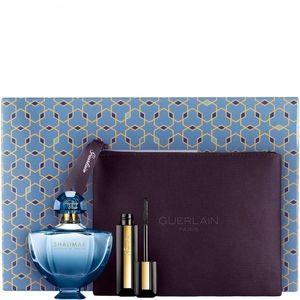 Guerlain Shalimar Souffle de Parfum - Coffret eau de parfum, mascara Cils d'Enfer So Volume et trousse