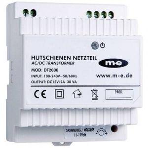 M-e Interphone de porte modern-electronics 40778 bloc d'alimentation pour profilé-support blanc