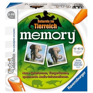 Ravensburger Memory en allemand (Tiptoi memory - Rekorde im Tierreich)