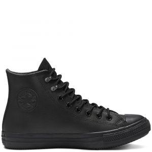 Converse Ctas Winter Leather chaussures Hommes noir T. 42,5