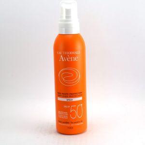 Avène Spray solaire SPF 50+ Très haute protection résiste à l'eau