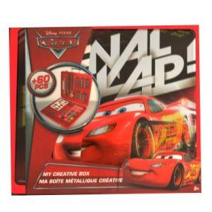 D'arpèje Boîte métallique créative 60 pièces Cars