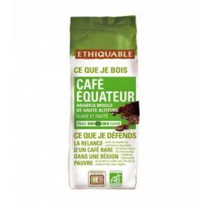 Ethiquable Café Equateur moulu Bio & équitable 250g - 100% Arabica - Intensité 3/5