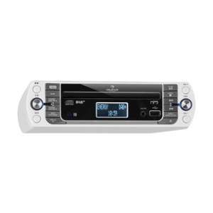 Auna KR-400-CD Radio de cuisine tuner DAB+/PLL FM Lecteur CD MP3 - Blanc